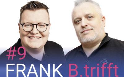 FRANK B.trifft – Der Podcast für Solingens Wirtschaft // Folge 9: Jogi Löw kann bald jeder sein – und Nationalmannschaft spielen auch! Die Experten Patrick Baur und Bernd Unger klären auf zum Thema Digitales Sportmanagement und E-Sport